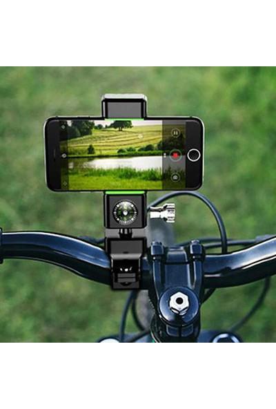 Guider Pusulalı Bisiklet ve Motosiklet Telefon Tutucu Q003