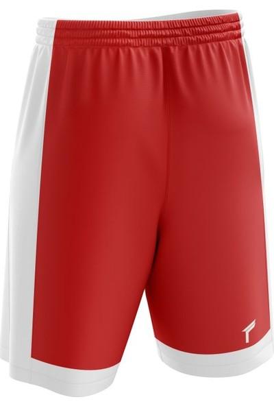 Freysport Basketbol Şortu - Kırmızı - Beyaz