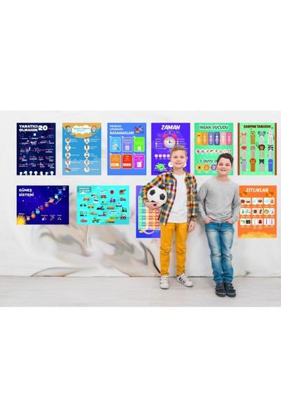 Üze Türkçe Eğitici Posterler 2. Seri