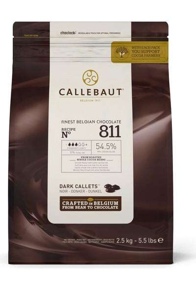 Callebaut Bitter Drop Çikolata 2.5 kg