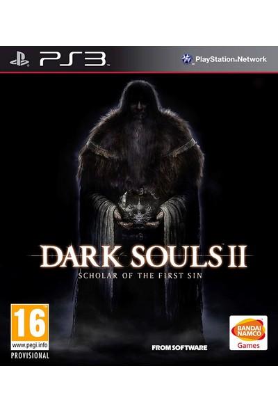 Dark Souls 2: Scholar Of The First Sin PS3 Oyun