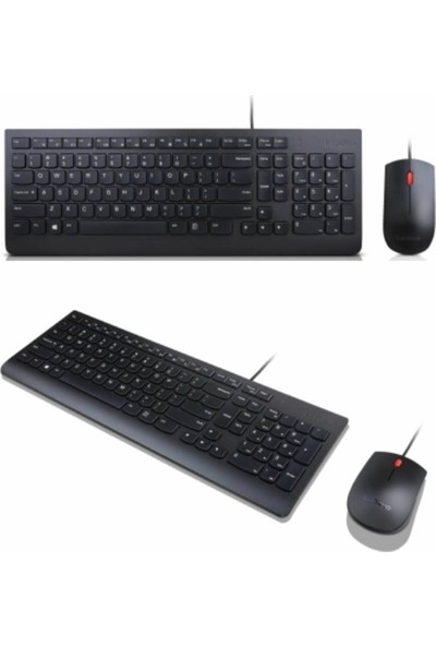 Lenovo Essential Wired Kb Mice_bo Klavye ve Mouse Seti 4X30L79920