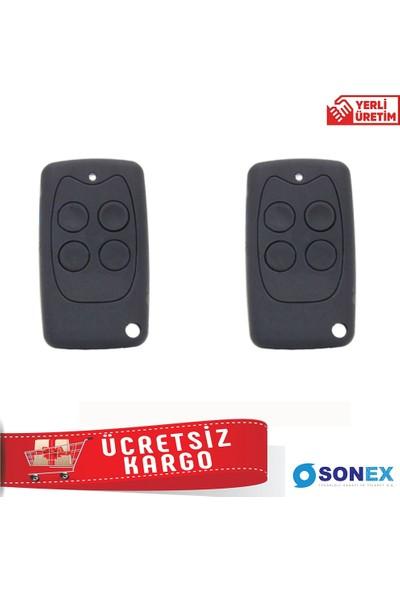 Sonex Snx 6010 - Trf 220V Panjur - Kepenk Alıcısı (4 Adet Kumanda İle)