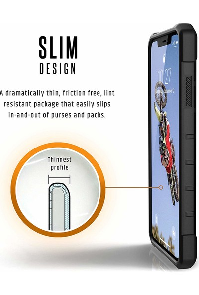 UAG Pathfinder Apple iPhone XS Max Kılıf - Siyah