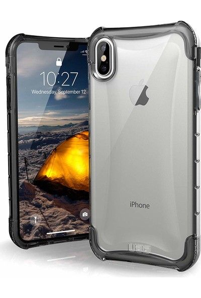 UAG Plyo Apple iPhone XS Max Kılıf - Saydam