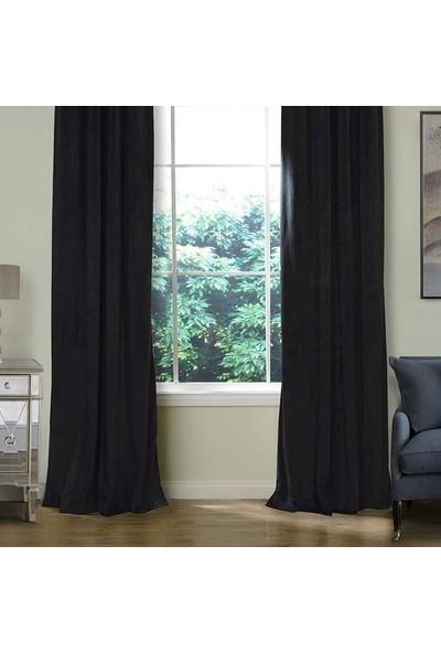 Premier Home Harmony Fon Perde Siyah 170X270 Tek Kanat