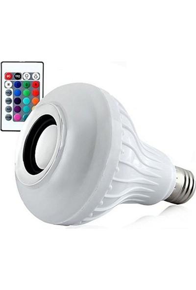Sunika Bluetooth Hoparlör Akıllı LED Ampül