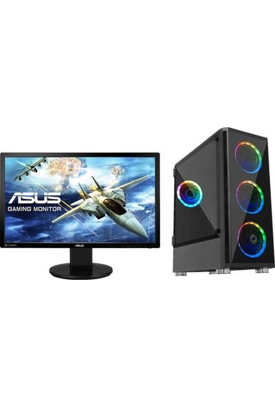"Go Gamer GGRS2D Intel Core i5 9600K 16GB 1TB + 512GB SSD RTX2070 Freedos 24"" Masaüstü Bilgisayar"