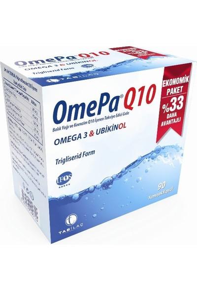 Omepa Q10 Omega3 Ubiquinol 90 Kapsül