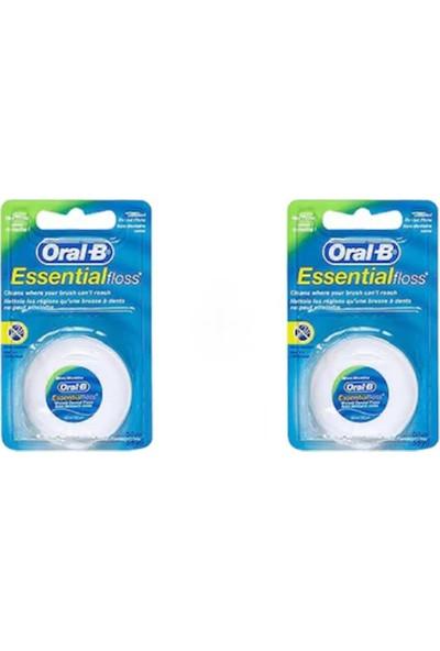 Oral-B Essential Floss 50 m 2 Adet Diş İpi