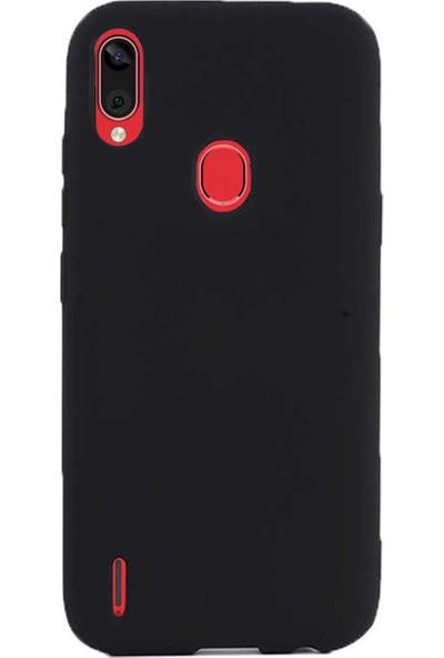 Microcase Casper Via E3 Premium Matte Silikon Kılıf - Siyah