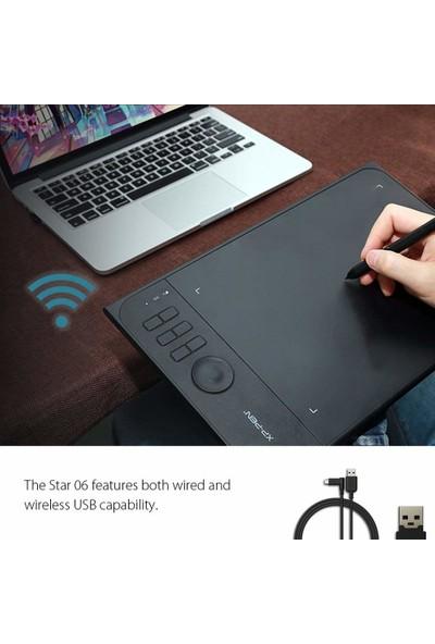 """Xp-Pen STAR06 Wireless 2.4G 13.3"""" Grafik Tablet"""