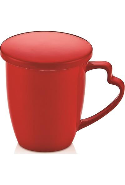 Nbl Şeker Kapaklı Kupa Kırmızı