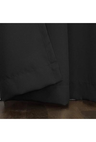 Premier Home Duck Fon Perde Siyah 140 x 270 cm