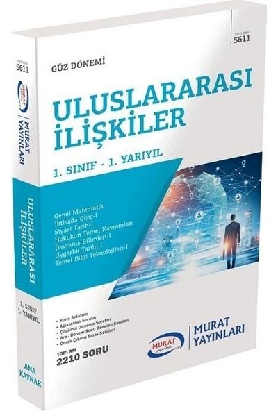 Murat Yayınları Açıköğretim 5611 1. Sınıf Güz Uluslararası Ilişkiler Konu Anlatımlı Soru Bankası