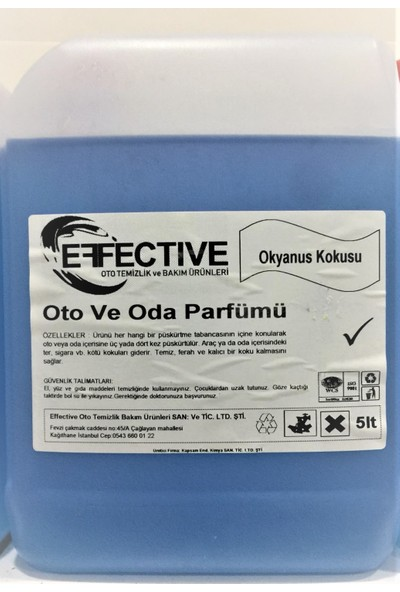 Effective Oto ve Oda Parfümü 5 lt