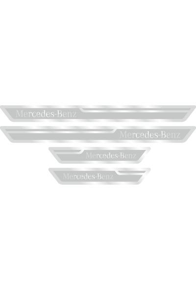 Mercedes Benz Gümüş Kapı Eşiği, Kapı Karşılama 4'lü Set