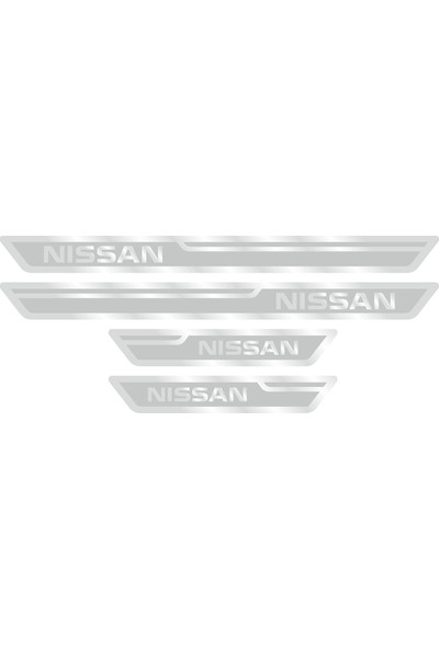 Nissan Gümüş Kapı Eşiği, Kapı Karşılama 4'lü Set