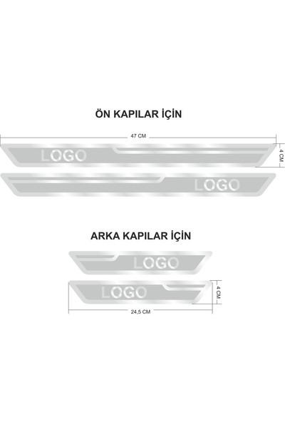 Dacia Gümüş Kapı Eşiği, Kapı Karşılama 4'lü Set