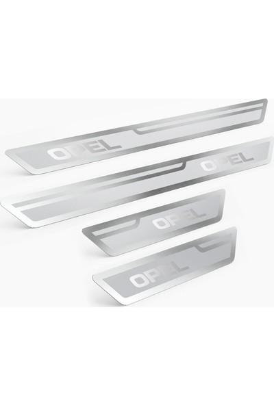 Opel Gümüş Kapı Eşiği, Kapı Karşılama 4'lü Set