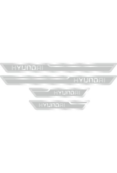 Hyundai Gümüş Kapı Eşiği, Kapı Karşılama 4'lü Set