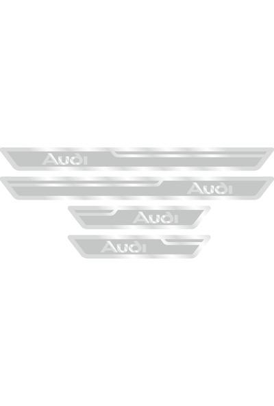 Audi Gümüş Kapı Eşiği, Kapı Karşılama 4'lü Set