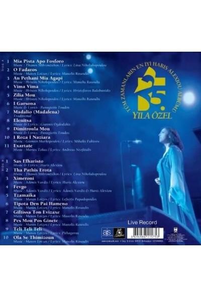 Haris Alexiou - Best Of Haris Alexiou 25.yıl Özel Koleksiyon Plak