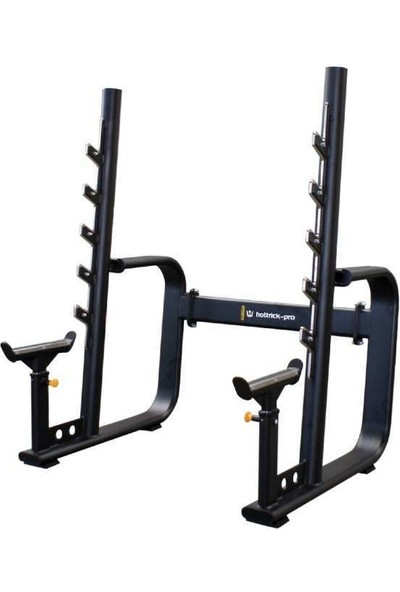 Hattrick-Pro Ms32 Staırs Squat Rackwıth Adjustable Safety Catch