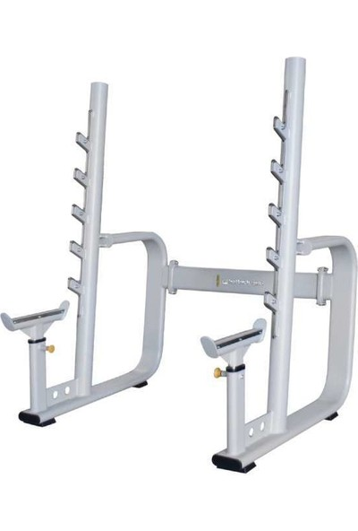 Hattrick-Pro Ps32 Staırs Squat Rack Wıth Adjus.Safety Catch
