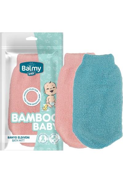 Balmy Bambu Bebek Banyo Eldiveni