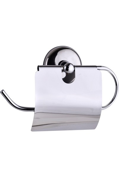 Baymera Kapaklı Kağıtlıklı Banyo Aksesuar Seti 2'li