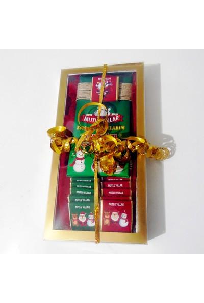 Tonti Ponti Mini Kutulu Baton Yılbaşı Çikolatası