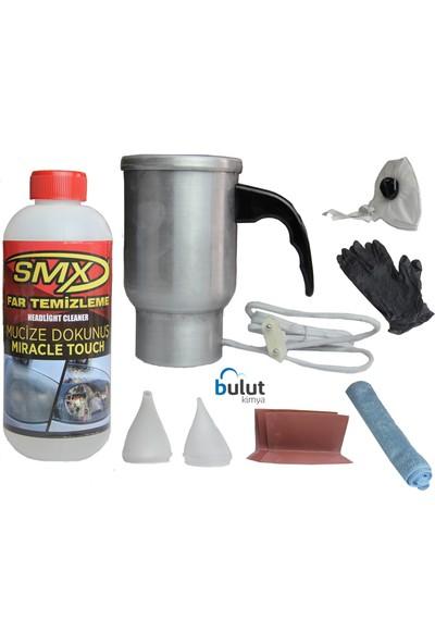 Smx Yeni Nesil Buharlı Araç Far Temizleme Seti
