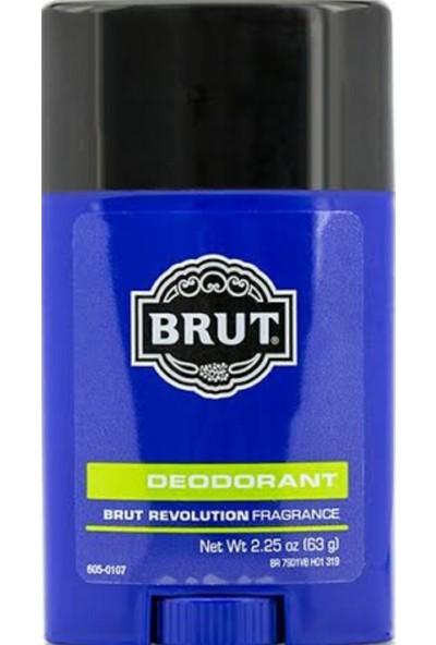 Brut Deodorant (Brut Revolution Scent) 63.gr(2.25) Oz Amerika'dan Ithal
