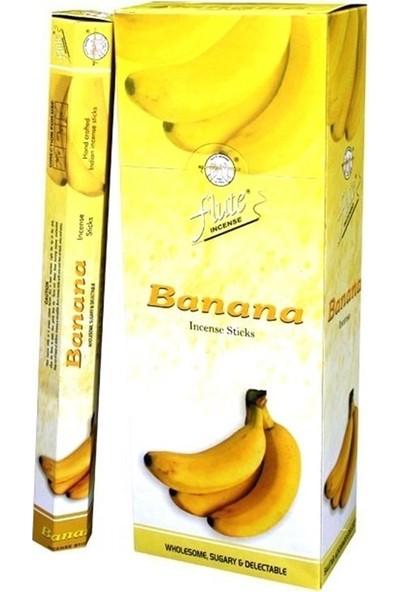 Flute Tütsü Muz Banana 120 Adet Sticks Incense