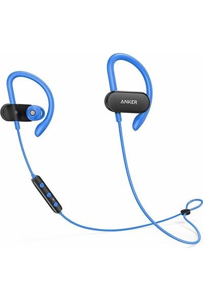 Anker Soundcore Spirit X Bluetooth 5.0 Spor Kulaklık - IPX7 Suya Dayanıklılık - 12 Saate Varan Şarj - Mavi - A3451