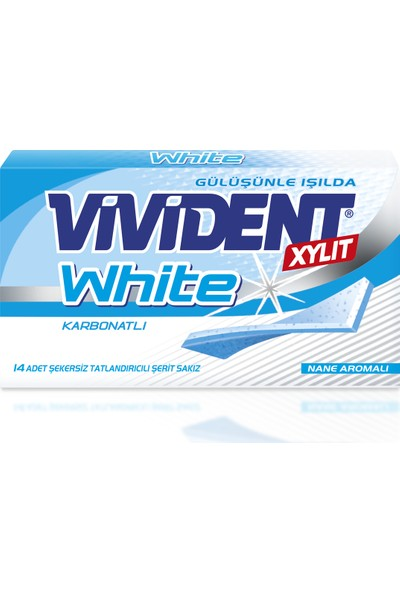 Vivident Cüzdan White 18'li x 26 gr