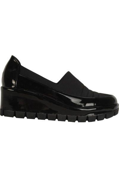 Olympos Günlük Streçli Kadın 5,5 cm Dolgu Topuk Ayakkabı