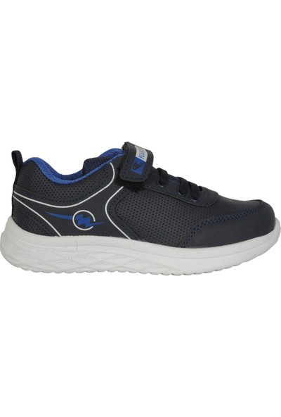 Hammır Cek 058 Lacivert Cırtlı Erkek Çocuk Spor Ayakkabı