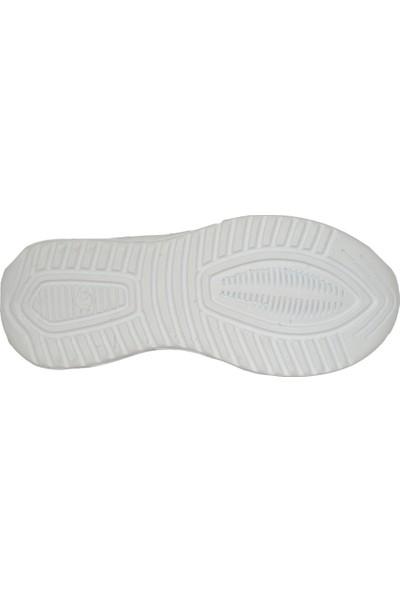 Hammır Cek 058 Siyah-Beyaz Cırtlı Erkek Çocuk Spor Ayakkabı