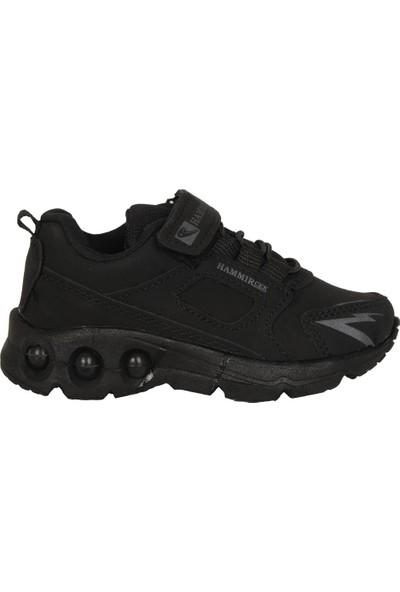 Hammır Cek 1039 Siyah Erkek Çocuk Spor Ayakkabı