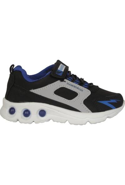 Hammır Cek 1039 Siyah-Sax Erkek Çocuk Spor Ayakkabı