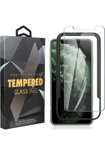 Toucan Apple iPhone 11 Pro MaX / iPhone XS MaX Temperli Cam Ekran Koruyucu Kolay Kurulum 9h Slim Hd