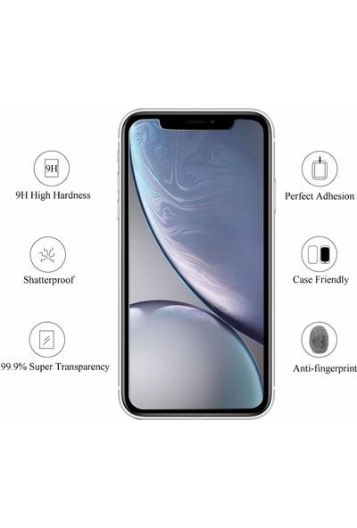 Toucan Apple iPhone 11 / iPhone XR Temperli Cam Ekran Koruyucu 9h Slim Hd
