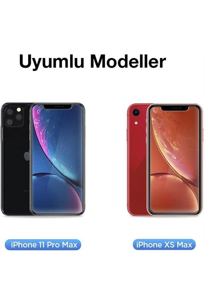 Toucan Apple iPhone 11 Pro MaX / iPhone XS MaX Temperli Cam Ekran Koruyucu 9h Slim Hd