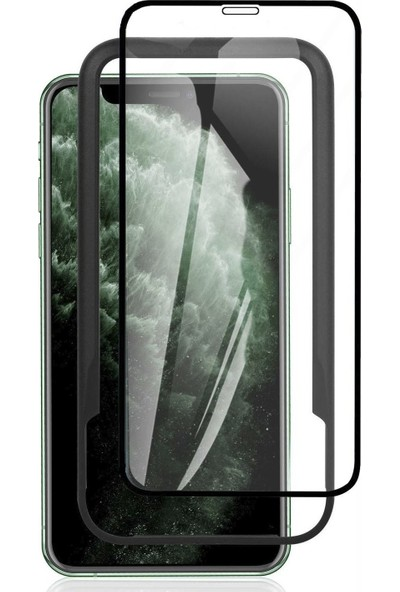 Toucan Apple iPhone 11 / iPhone XR Temperli Cam Full Ekran Koruyucu Kolay Kurulum 9h Slim Hd