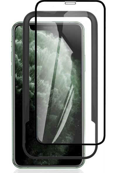 Toucan Apple iPhone 11 Pro MaX / iPhone XS MaX Temperli Cam Full Ekran Koruyucu Kolay Kurulum 9h Slim Hd