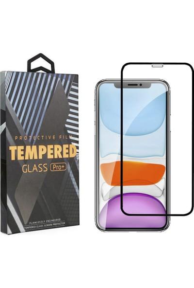 Toucan Apple iPhone 11 Pro / iPhone XS / iPhone X Temperli Cam Full Ekran Koruyucu 9h Slim Hd
