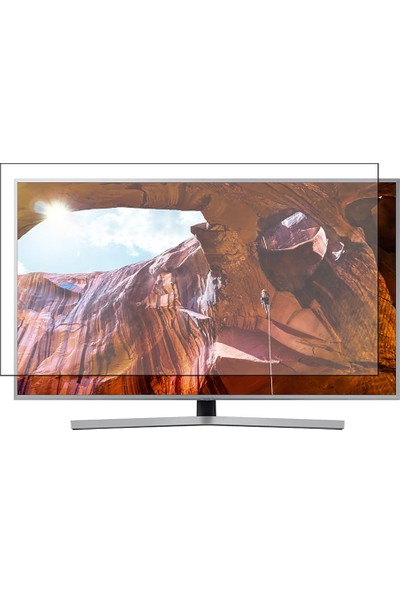 Nunamax Samsung 50RU7440 Uyumlu TV Ekran Koruyucu