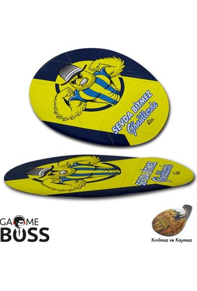 Gameboss Sarı Kanarya Taraftar Bilek Destekli Mouse Pad
